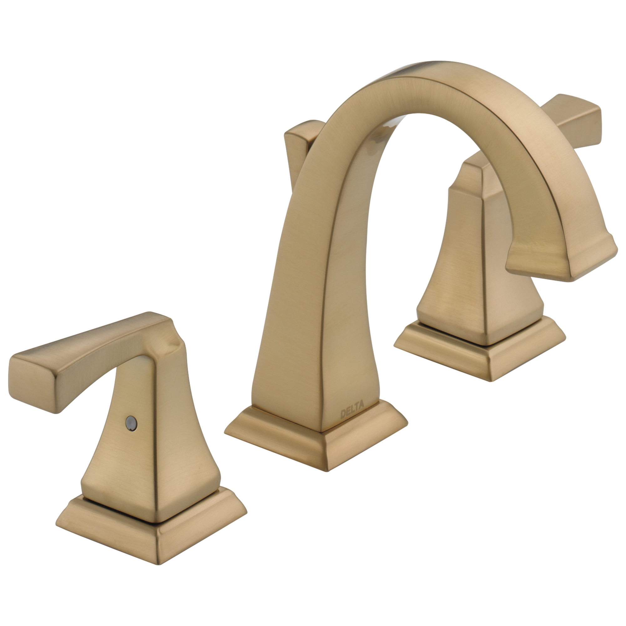 Fresh Champagne Bronze Bathroom Faucet