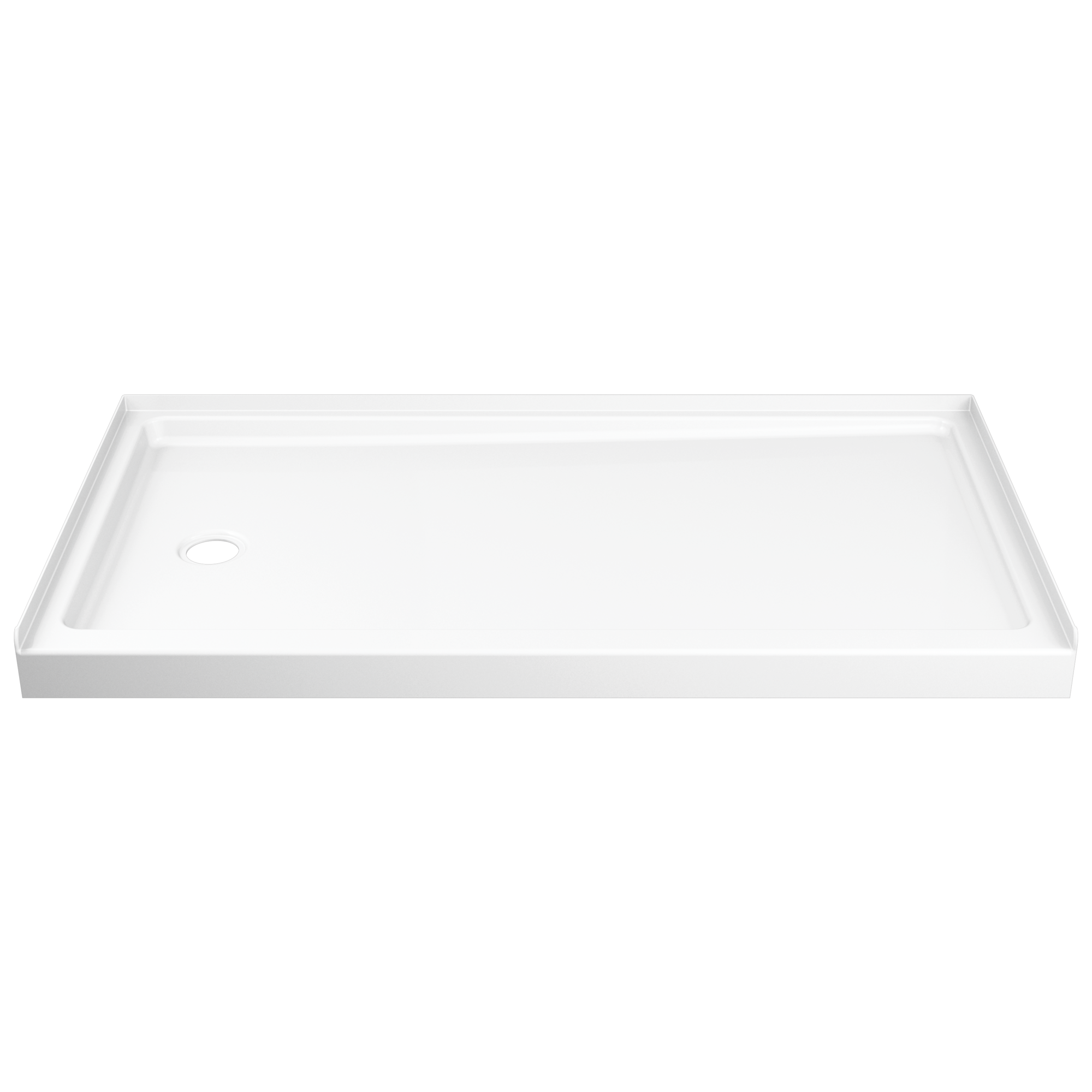 Delta B78615-6032L-WH ProCrylic Shower Base 60 x 32 High Gloss White