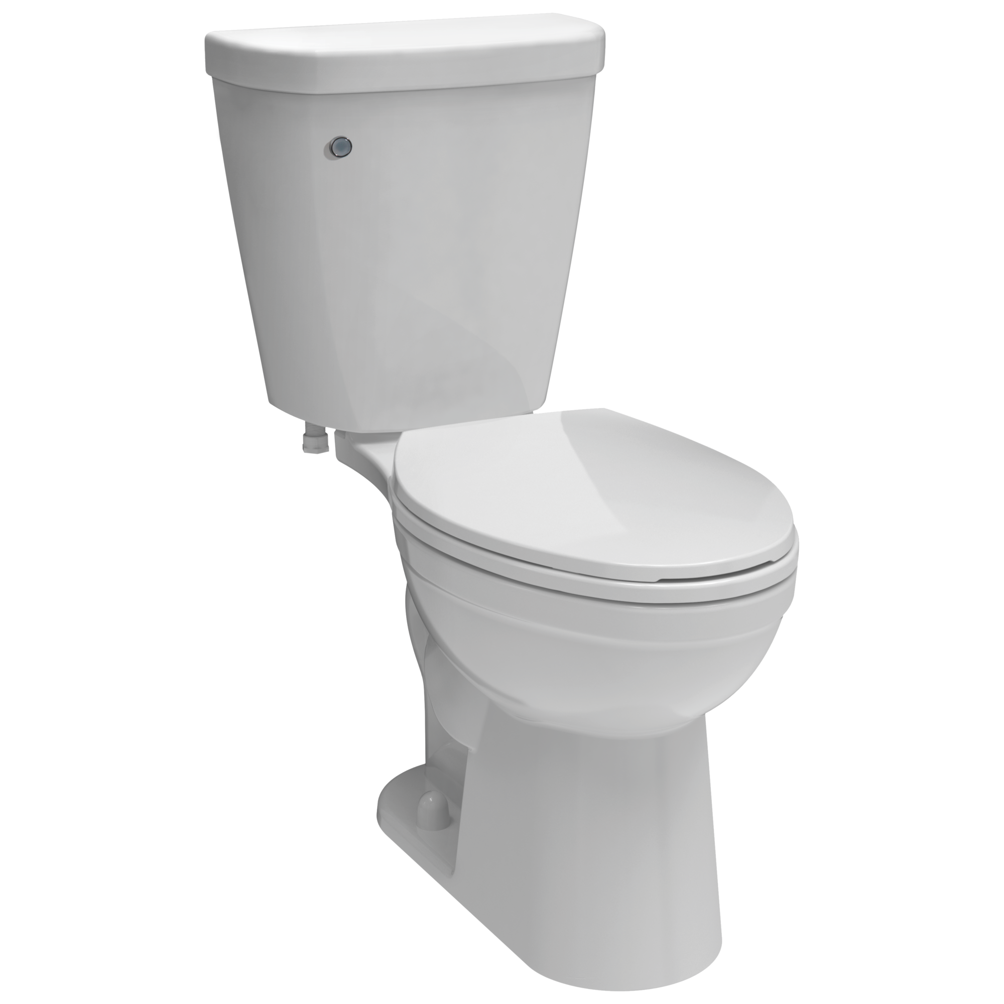 push button toilet parts. Download High Resolution Image C43903T WH  Toilet with FlushIQ Elongated Front