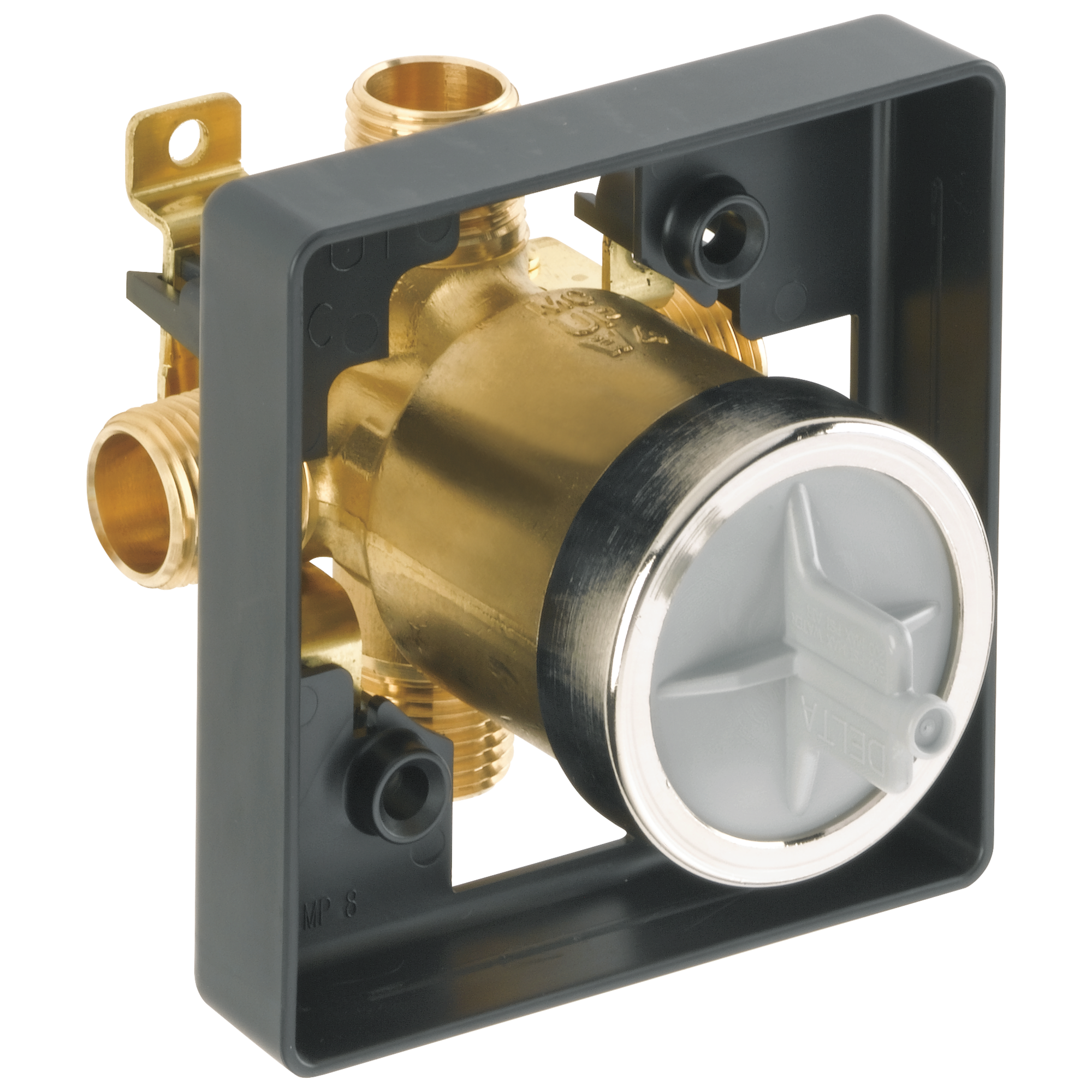Delta-R10000-UNBX MultiChoice(R) Universal Tub and Shower Valve Body ...