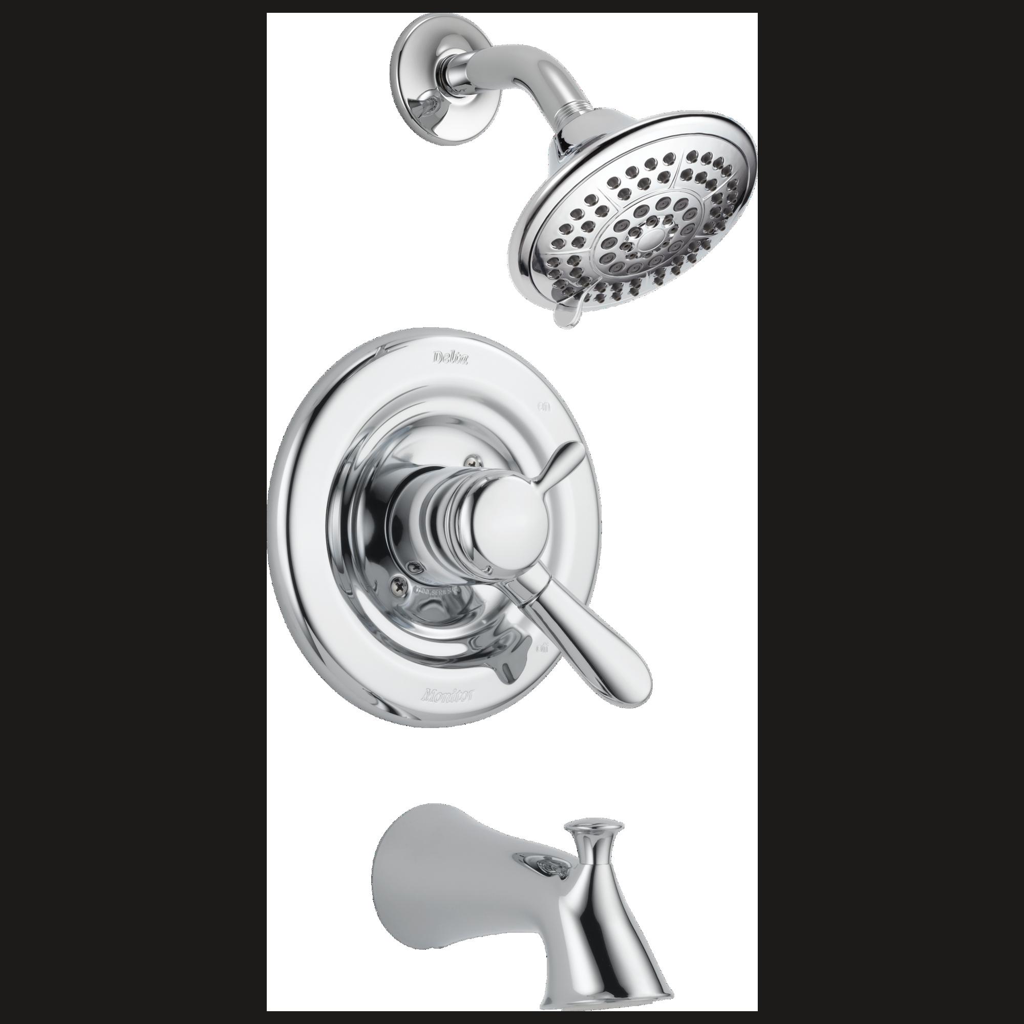 Lahara: Monitor® 17 Series Tub & Shower Trim