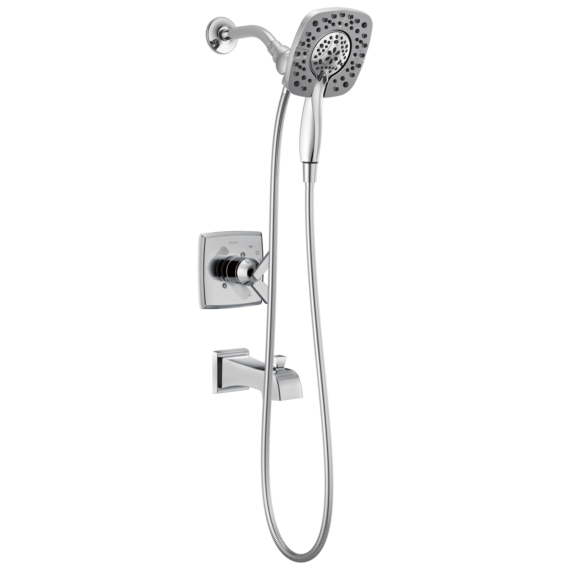 Delta Ashlyn: Monitor® 17 Series Shower Trim With In2ition®
