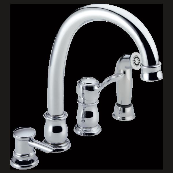 Single Handle Kitchen Faucet 11902-WF