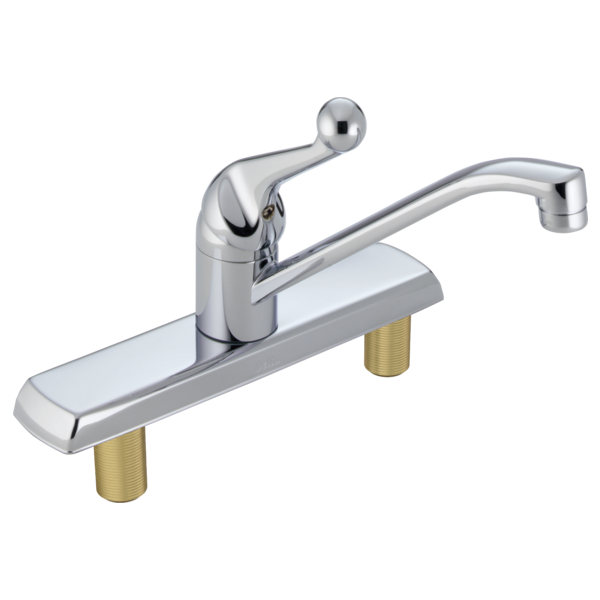 Single Handle Kitchen Faucet LF Delta Faucet - Price to install bathroom faucet