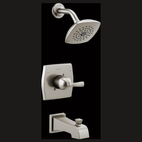 monitor 14 series tub shower 144768 ss delta faucet rh deltafaucet com