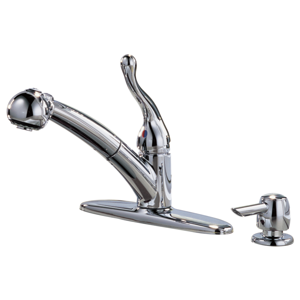 Kitchen Pull Out Faucet 16997 Sd Delta Faucet