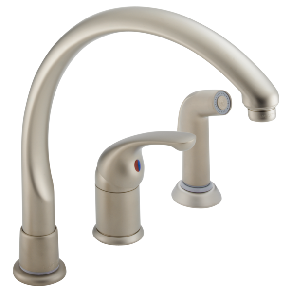 Delta Waterfall Kitchen Faucet White