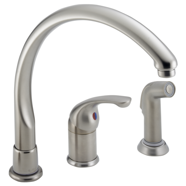 172 Sswf Single Handlekitchen Faucet With Spray