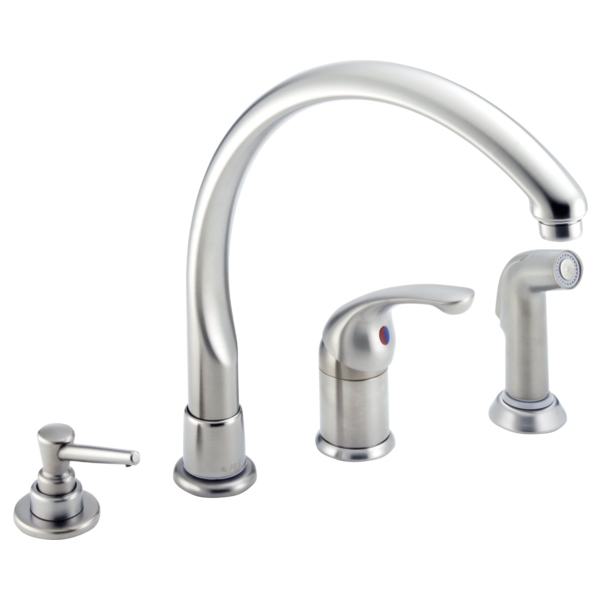 Single Handle Kitchen Faucet Delta Faucet
