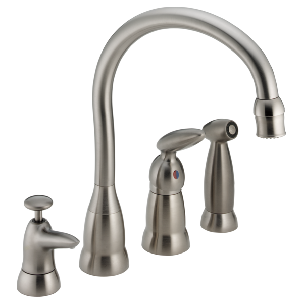 Single Handle Kitchen Faucet 187 Sswf Delta Faucet