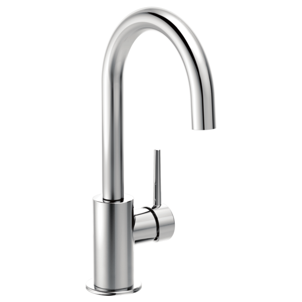 DELTA 1959LF CONTEMPORARY SINGLE HANDLE BAR FAUCET, CHROME MC343742