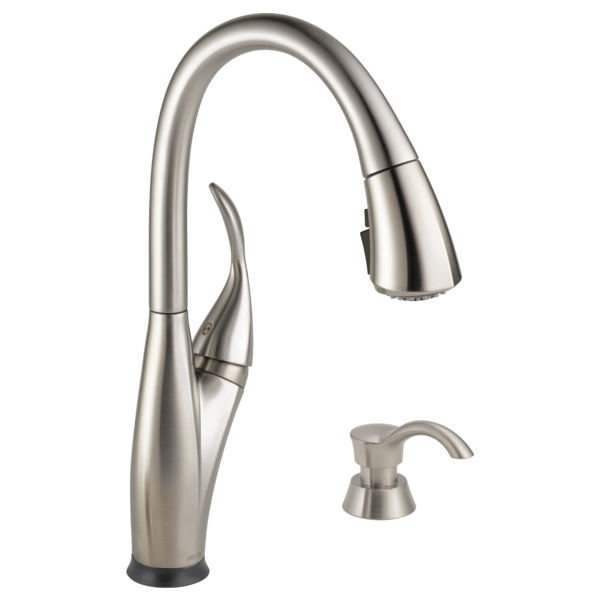 Single Handle Pull-Down Kitchen Faucet With Touch2O® And