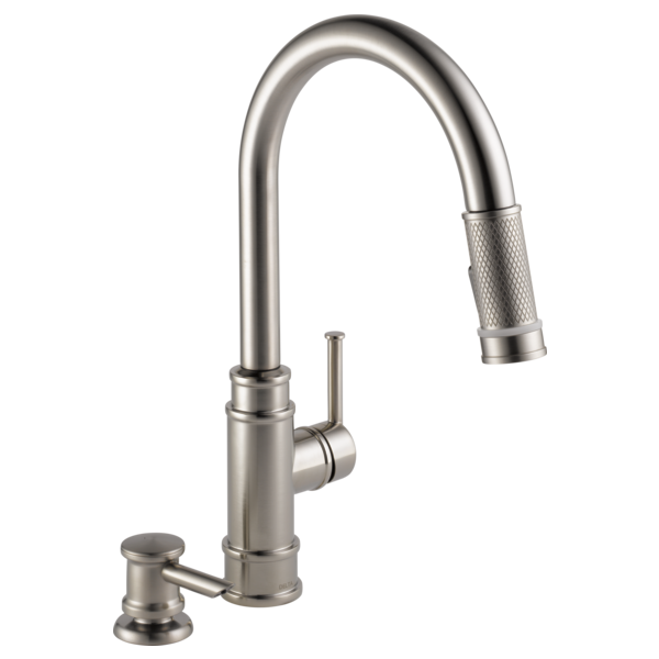 Single Handle Pull Down Kitchen Faucet 19935l Spsd Dst Delta Faucet