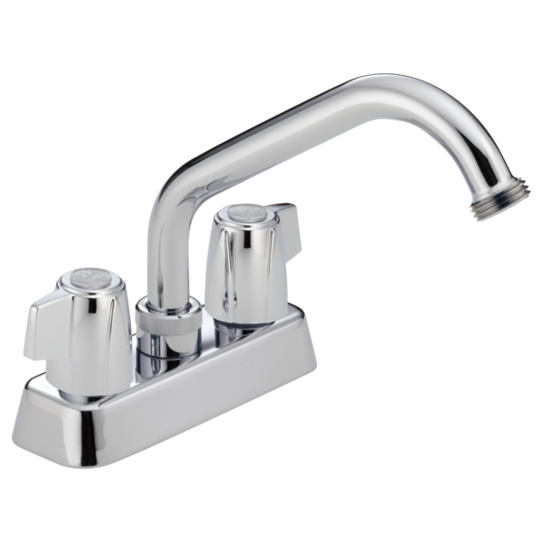 DELTA 2131LF CLASSIC TWO HANDLE LAUNDRY FAUCET, CHROME 5-5/8