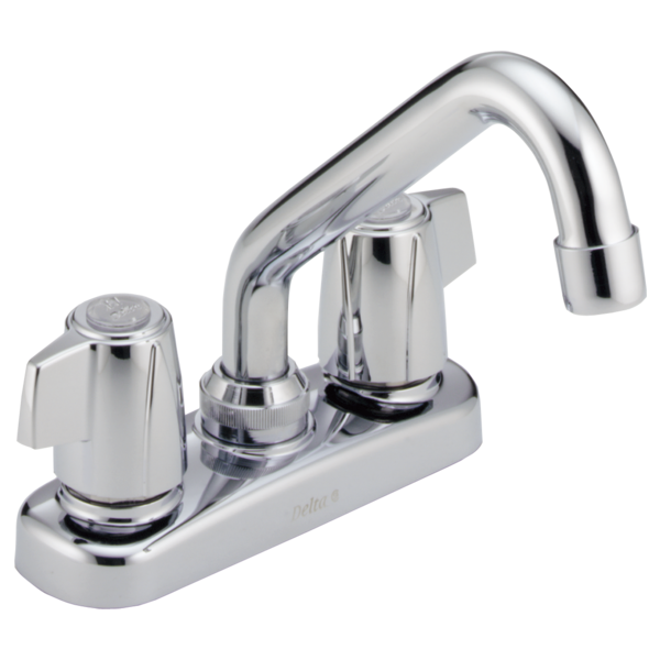 DELTA 2133LF CLASSIC TWO HANDLE LAUNDRY FAUCET,CHROME 5-5/8