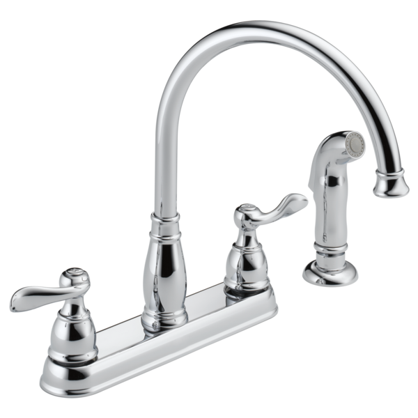 Two Handle Kitchen Faucet 21996LF | Delta Faucet