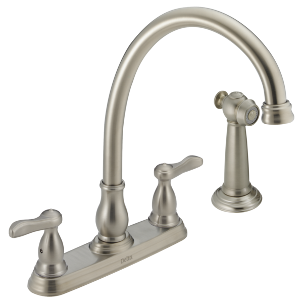 two handle kitchen faucet 24902 ss delta faucet