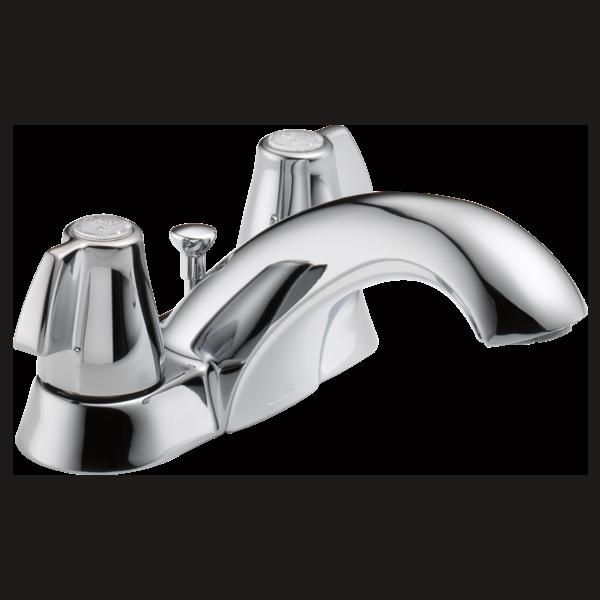 Two Handle Centerset Bathroom Faucet 2520LF-MPU | Delta Faucet