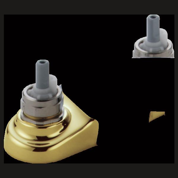 Two Handle Centerset Lavatory Faucet - Less Handles