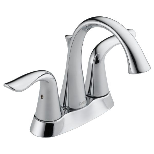 Two Handle Centerset Bathroom Faucet MPUDST Delta Faucet - Discount bathroom sink faucets