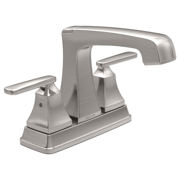 DELTA 2564-SSMPU-DST ASHLYN TWO HANDLE CENTERSET LAVATORY FAUCET,STAINLESS MC351687