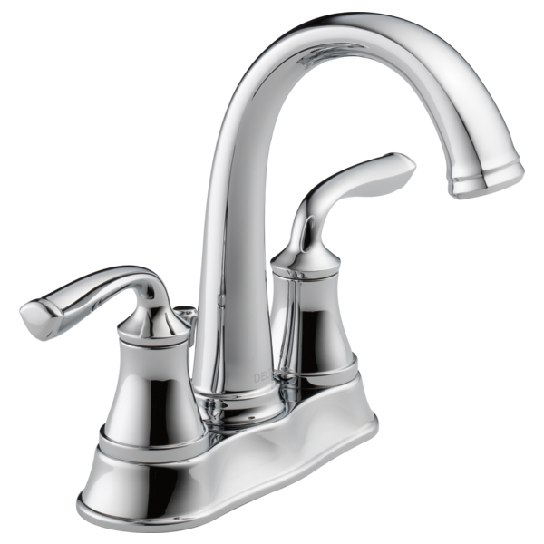 Two Handle Centerset Bathroom Faucet 25716lf Eco Delta
