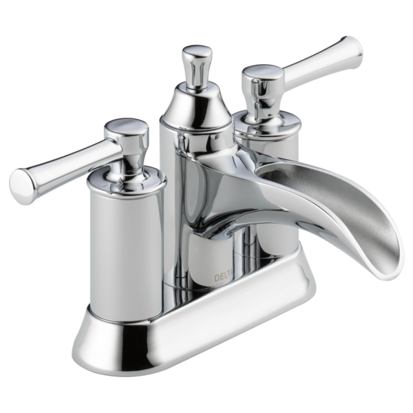 Two Handle Centerset Bathroom Faucet 25720lf Delta Faucet