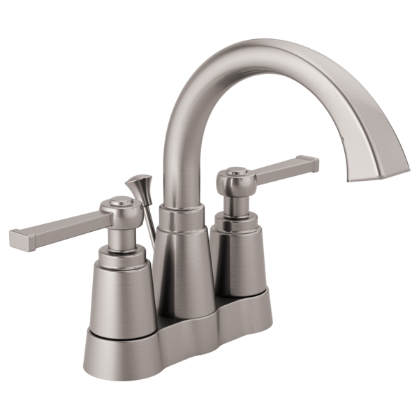 Two Handle Centerset Bathroom Faucet 25742lf Sp Delta Faucet