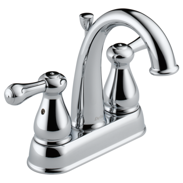 Two Handle Centerset Bathroom Faucet. Leland
