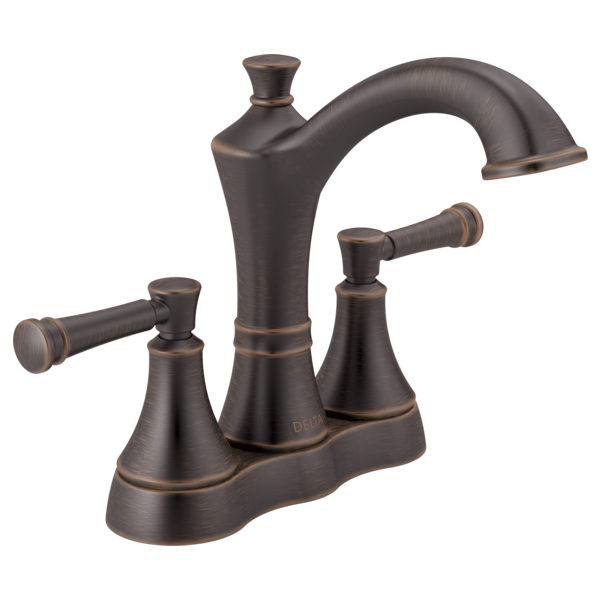 Two Handle Centerset Bathroom Faucet 25757LF-RB | Delta Faucet