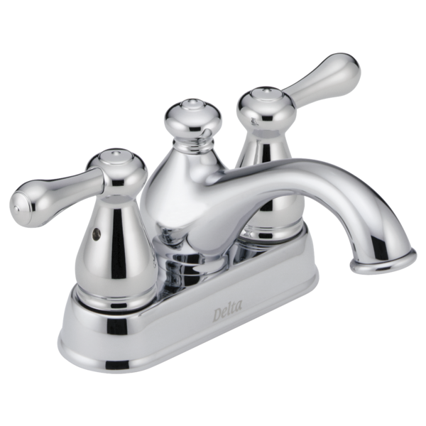 Nice Two Handle Centerset Lavatory Faucet. Leland