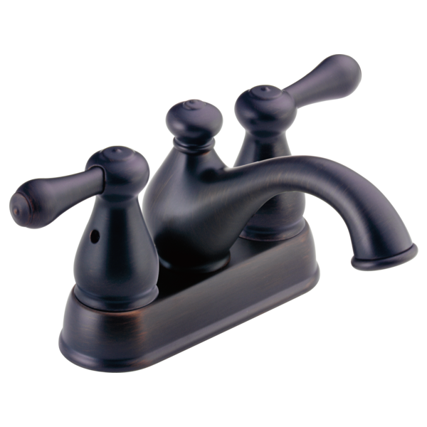 Two Handle Centerset Bathroom Faucet 2578LFRB-278RB | Delta Faucet