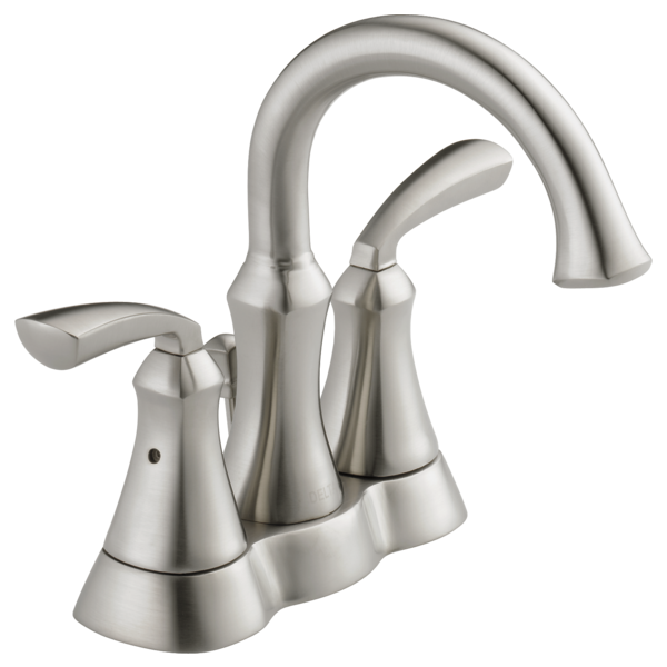Two Handle Centerset Bathroom Faucet 25962LF-SS-ECO | Delta Faucet
