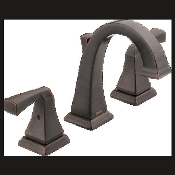 Two Handle Widespread Bathroom Faucet 3551lf Rb Delta Faucet