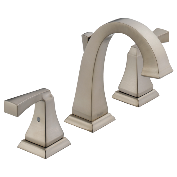 3551lf ss two handle widespread lavatory faucet