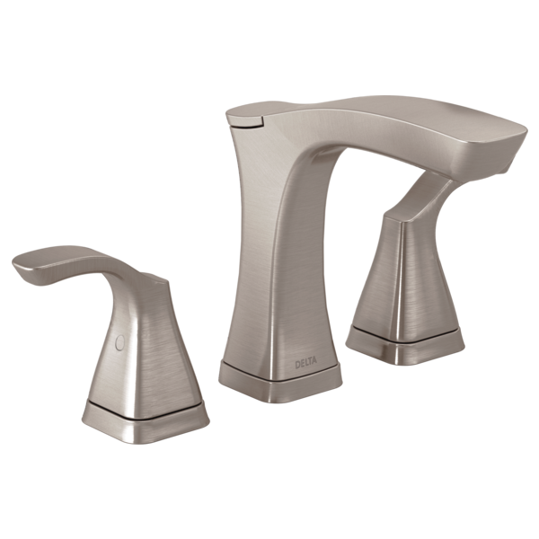 DELTA 3552-SSMPU-DST TESLA WIDESPREAD LAVATORY FAUCET BRILLIANCE STAINLESS MC346093