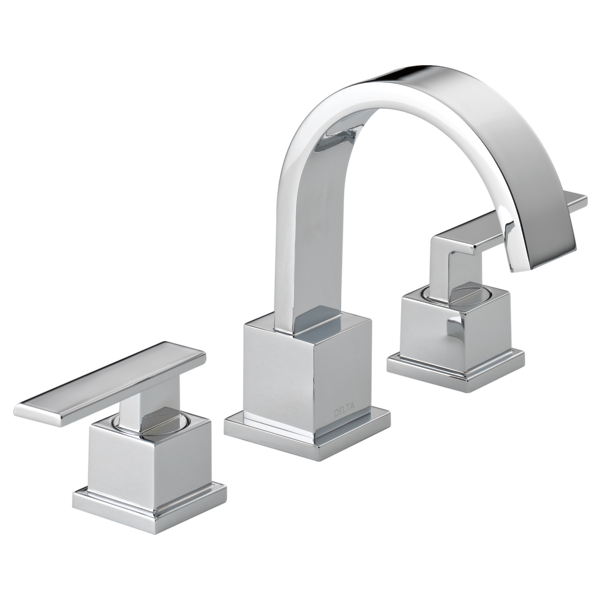 Two Handle Widespread Bathroom Faucet 3553LF | Delta Faucet