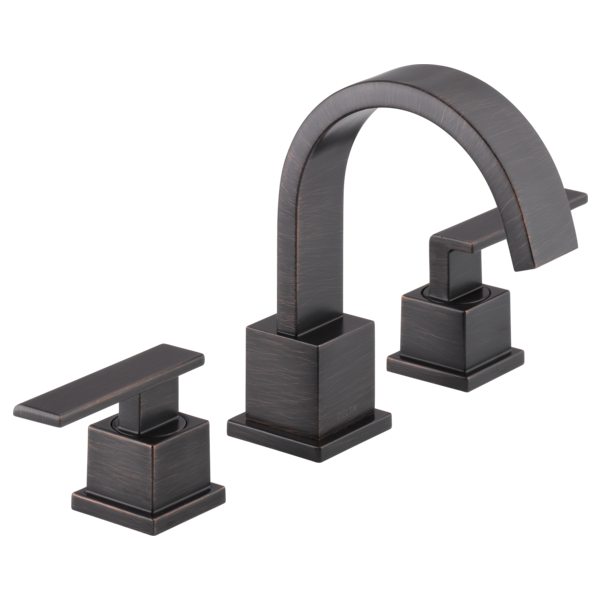 Superbe Two Handle Widespread Bathroom Faucet