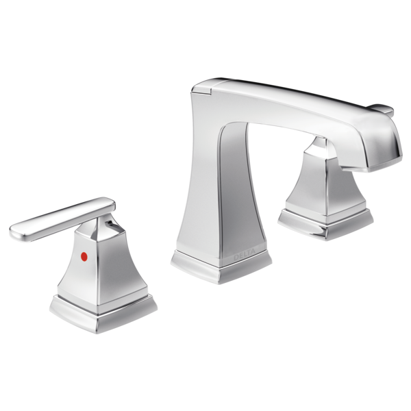 DELTA 3564-MPU-DST ASHLYN TWO HANDLE WIDESPREAD LAVATORY FAUCET,CHROME MC351688