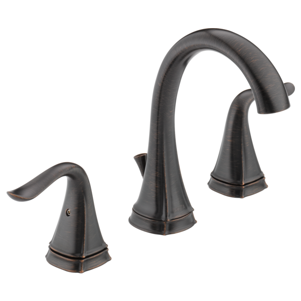 Two Handle Widespread Lavatory Faucet 35705LF-RB | Delta Faucet