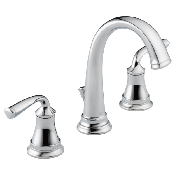 Two Handle Widespread Bathroom Faucet 35716lf Eco Delta