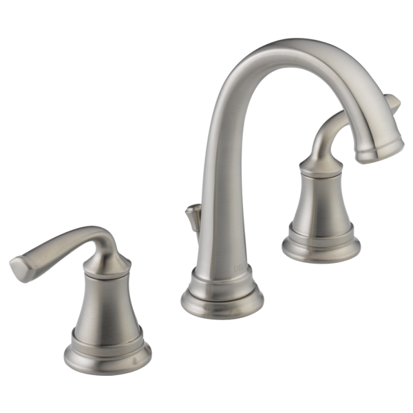 Two Handle Widespread Bathroom Faucet 35716lf Ss Delta Faucet