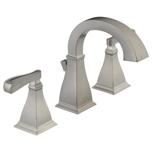 Two Handle Widespread Lavatory Faucet 35717-SP-DST | Delta ...