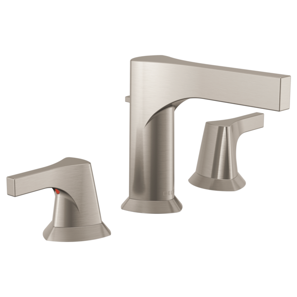 Two Handle Widespread Bathroom Faucet 3574-SSMPU-DST | Delta Faucet
