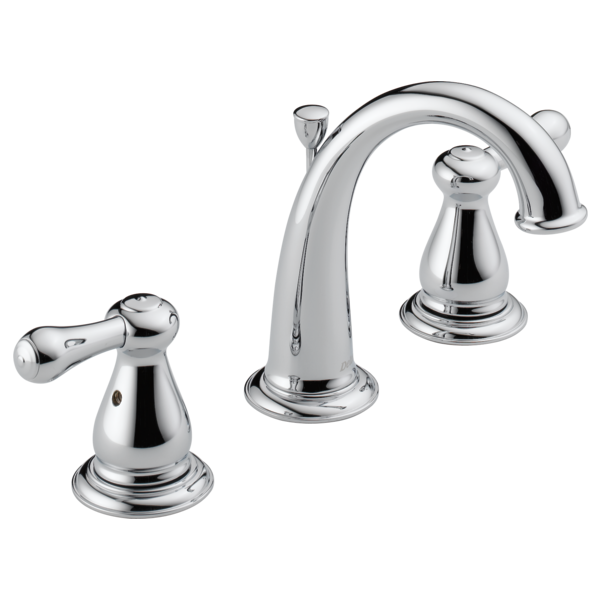 Two Handle Widespread Bathroom Metal PopUp MPUDST Delta - Delta kitchen faucet repair two handle