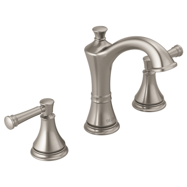 Two Handle Widespread Bathroom Faucet 35757LF-SP | Delta Faucet