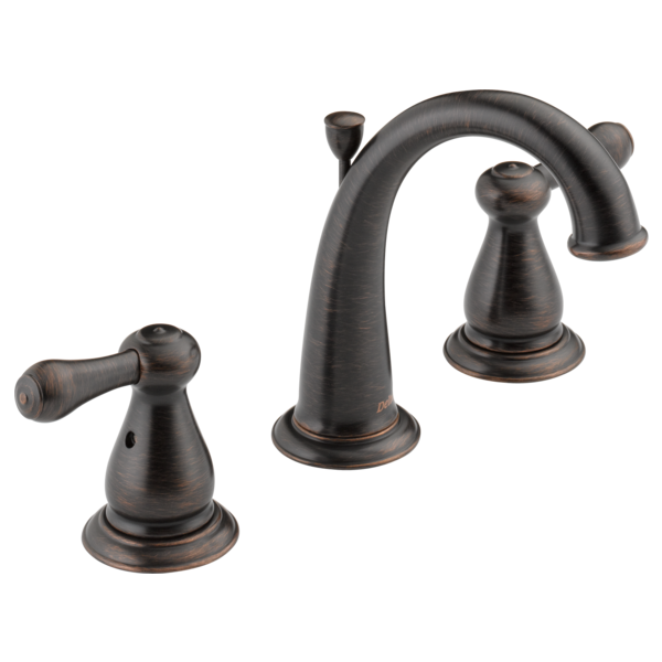 Two Handle Widespread Bathroom Faucet 3575lf Rb Delta Faucet