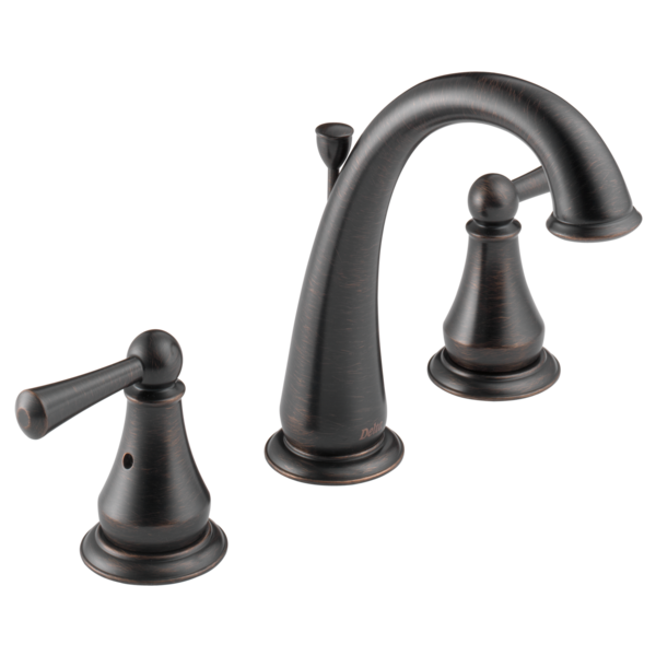 Two Handle Widespread Lavatory Faucet 35901lf Rb Delta