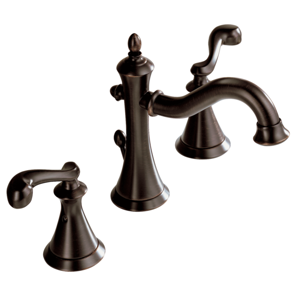 Two Handle Widespread Lavatory Faucet 35925 Rb Delta Faucet