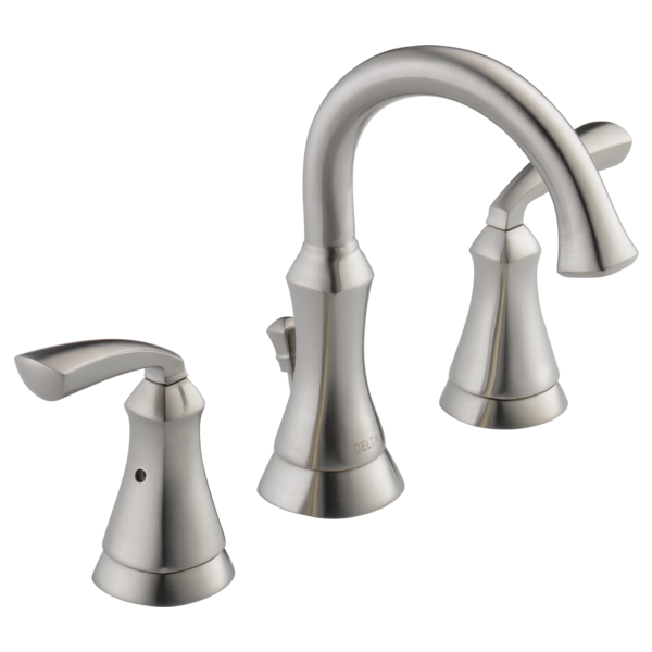 Two Handle Widespread Lavatory Faucet 35962lf Ss Delta Faucet